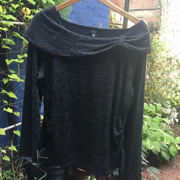 2df9c1b0d0a SOLD Rafaella Shawl Collar Marled Sweater XL NWT